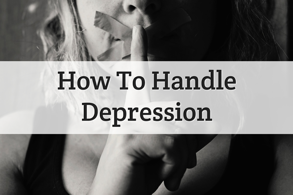 deal with depression - feature image