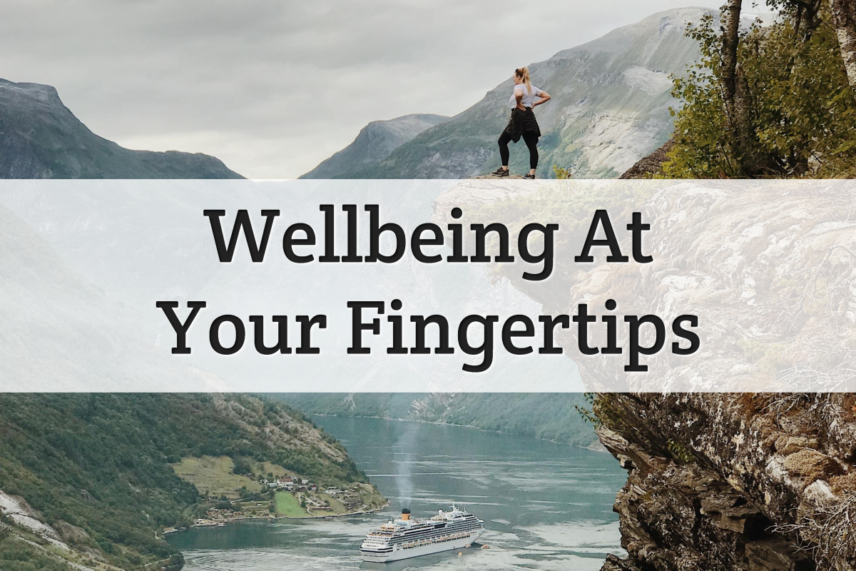 wellbeing at your fingertips - feature image