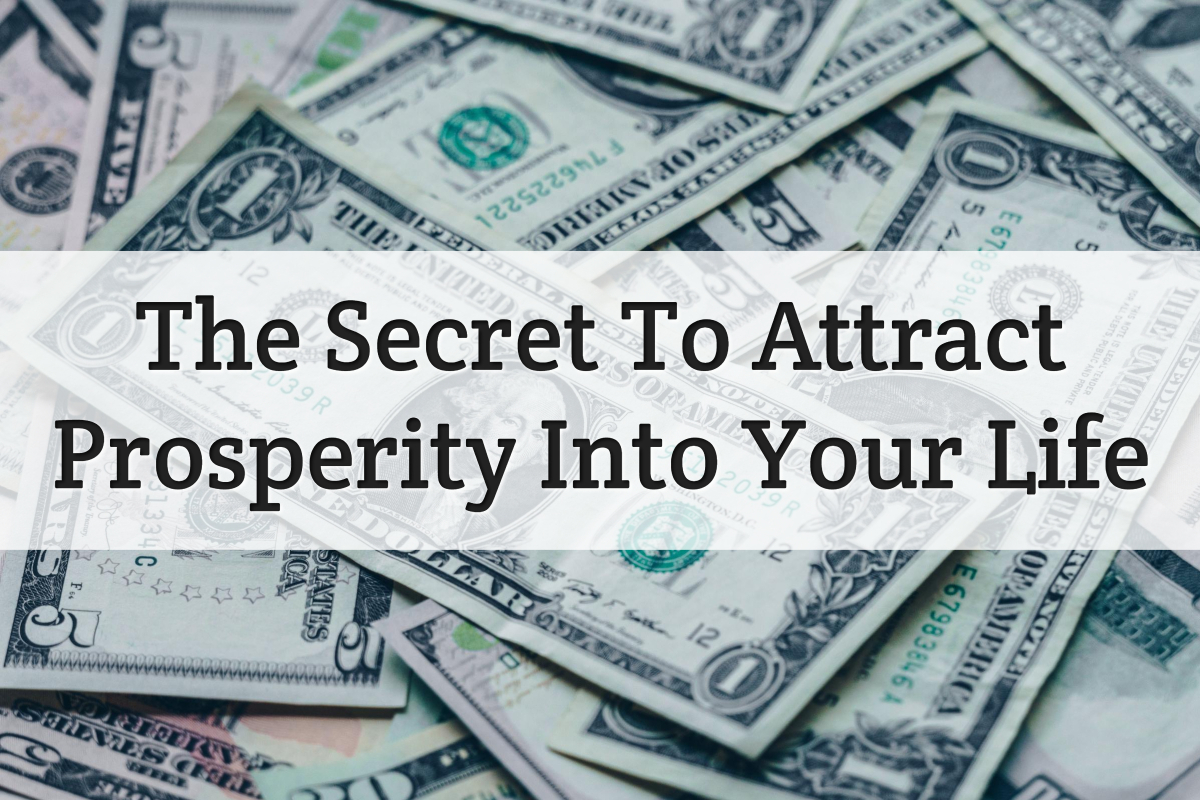 attract prosperity - feature image