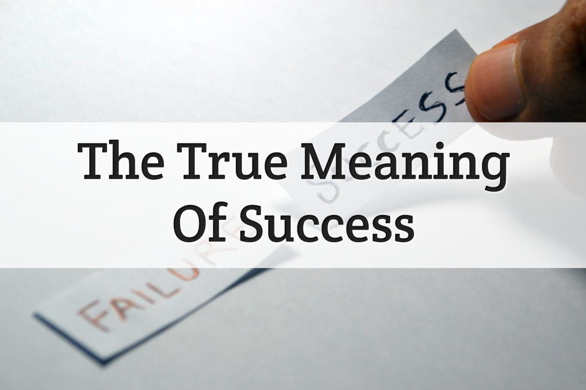 meaning of success - feature image