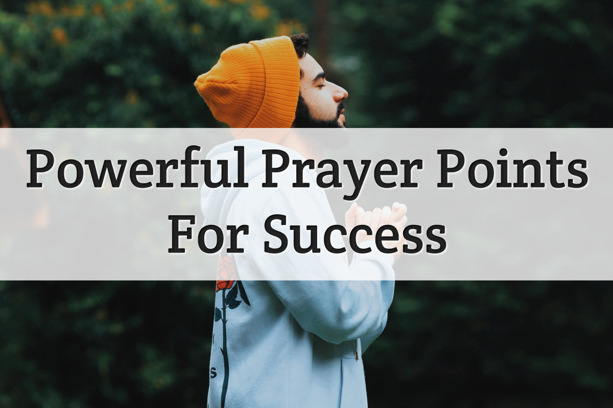 powerful prayer for success - feature image